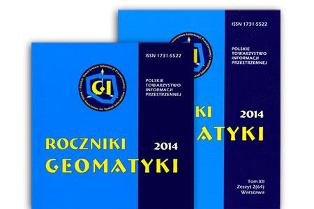Roczniki Geomatyki - okładka