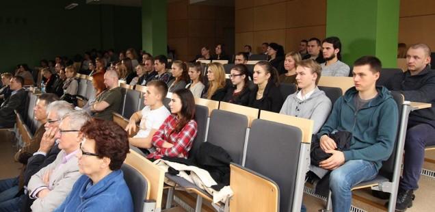 GIS Day - uczestnicy wykładów