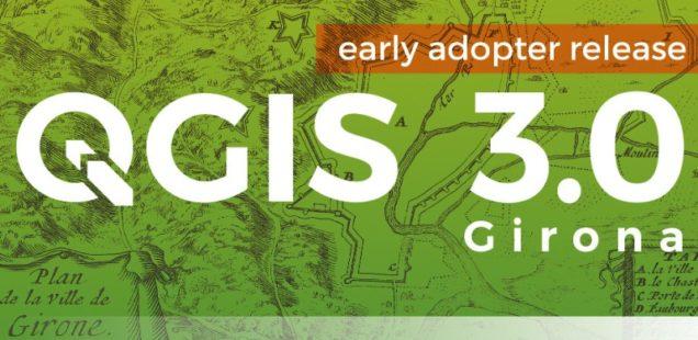 QGIS 3.0 dostępny do pobrania