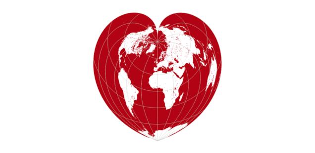 Mapa Walentynkowa w QGIS